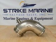 Wet Exhaust Mixing Elbow 4 Wet Outlet 1-1/4 Inlet 3 Id Dry 4-1/8 Flange