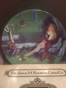 Disney's Sleeping Beauty And Evil Queen Collector Plates