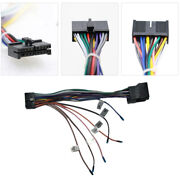 20 Pin Car Stereo Iso Wiring Harness Connector Adapter For Standard Audio System