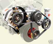Sbc Serpentine Pulley Kitpumps And Delco Alternator01 To 1block Mount Ps