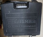 Used Craftsman 16.8v Carrying Case For Craftsman 15.6v Drill, Charger, And Battery
