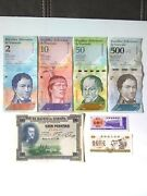 World Mix Banknotes Foreign Spain 1925 Lot Of 7 Pcs. Paper Money Old