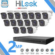 Hikvision Hilook Cctv System 16ch Dvr Outdoor Night Vision Camera Security Kit