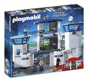 Playmobil_city Action_6919_police Headquarters With Prison_new Sealed Set