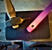 Blacksmith 3/4 Hardy Hot Cut Plate Anvil Tool,forge,jig,scrolling,blacksmithing