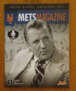 Ny Mets Magazine Ralph Kiner Vol. 53 Issue 1 March April 2014 Mint Condition