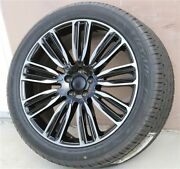 4new 22 Wheel And Tire Package Gloss Black 22x9.5 Range Rover Hse Sport