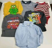 Lot Of 6 - Boy Clothes - 12-18 Months - Awesome Cars Teddy Bear Old Navy Disney