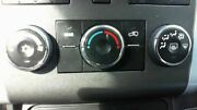 Heater A/c Control Chevy Traverse 09 10 11 12