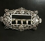 Antique Sterling Mid 19th William Summers Buckle Belt 41.3 Grams