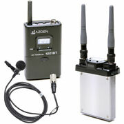 Azden 1201 Series - Slot-in Portable Wireless Lavalier Microphone System 1201si