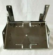 Chevrolet Chevy Gmc Truck Stainless Battery Tray Assembly 1955 2nd Series - 1957