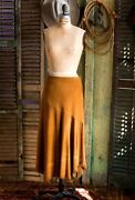 Handmade Western Cowgirl Deerskin Suede Leather 4 Point Skirt Sz Xs-xl 3 Colors