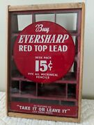 Eversharp Red Top Lead Andndash Cbs Show Advertising Andndash Counter Top Product Display