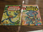 1972 Nick Fury And His Agents Of Shield 1 And 2. High Grade