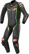 Alpinestars Gp Pro V2 Leather Race Suit Tech-air Compatible Black/green/red