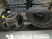Critical Mass Audio Ss6 Speaker 6.5and039and039 Best 2 Way Jl Sound Made In Usa Focal 995