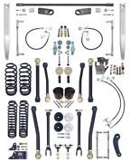 Currie Johnny Joint 4 Lift Suspension Kit W/rear Sway Baralum Arms07-18 Jk 4d