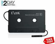 Cassette To Bluetooth Adapter For Car Bt Ion Player Iphone 8 7 Deck Audio Tape