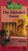 My Sesame Street The Alphabet Gamevhs 1988tested-rare Vintage-ships N 24 Hours