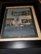 Bob Seger And The Silver Bullet Band Weand039ve Got Tonite Rare Promo Poster Ad Framed