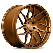 20 Rohana Rfx7 Bronze Forged Concave Wheels Rims Fits Acura Tsx