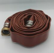 25 Ft. Heavy Duty Pvc Water Discharge Hose 150 Psi Lay Flat Dph150-idco 1.5 New