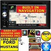 1994-2000 Ford Mustang Gps Navigation System Bluetooth Aux Car Radio Stereo