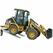 10000 Lb Skid Steer Loader And Tractor Trailer Haul Loading Ramps