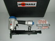 Wide Crown Stapler Uses Bostitch S2 Series Staples Spotnails New W/ Case