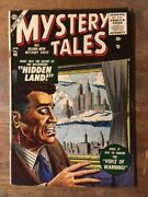 Mystery Tales 40 Lost Tv Show Issue-ditko-1956 Atlas Golden Age Comic Horror