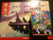 Super Smash Bros Ultimate Special Edition + 2 Posters - Brand New Usa Version