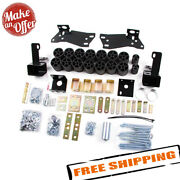 Zone Offroad C9353 3 Body Lift Kit For 2003-2005 Chevy Silverado And Gmc Sierra