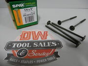 Spax Screws Made In Usa 1/4 X 5 Washer Head Star Drive Exterior