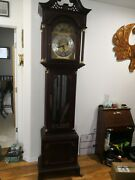 Seth Thomas Limited Edition Moonphase Grandfather Clock With Month/day/dateandnbsp