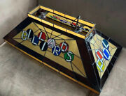 Stained Glass Billiards Pool Table Light