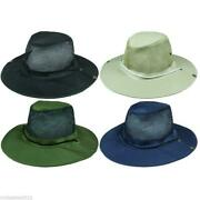 96 Plain Boonie Hats Solid Color Mesh Fishing Summer Hat W/ Snaps Wholesale Lot