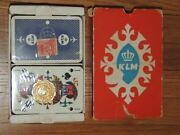 New 2 Decks Klm Royal Dutch Airlines Playing Cards By Max Velthuijs Tax Stamps