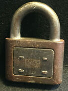 The Yale And Towne Yale Junior Pad Lock 225 Made In Usa No Key Locked