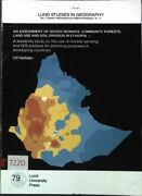 An Assessment Of Woody Biomass, Community Forests, Land Use And Soil Erosion In