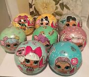 8 Lol Surprise Doll Big Sister Balls Series 1-3, Waves 1and2 Original Release