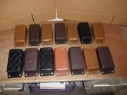 14 Assorted Vintage P-pads For Harley Davidson Choppers From The 1950 - 1970and039s