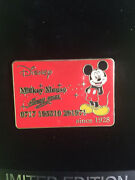 Disney Credit Card Series - Mickey Mouse Pin Le 250