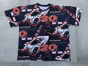 Vintage Road And Track And 20 T Shirt Gulf Oil Racing All Over Print Xl 90s Cars