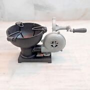 Forge Furnace With Hand Blower Vintage Style Pedal Type Handle Blacksmith Tool