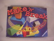 2004 Make 'n' Break Game By Ravensburger - Complete - Near Mint Condition