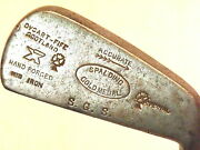 Spalding Vintage Gold Medal Hand Forged Mid Iron / Fife Scotland / Nice