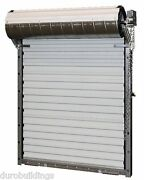 Durosteel Janus 10and039x10and039 Heavy Duty 3652 Series Fl Wind Rated Roll-up Door Direct