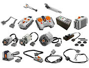 Lego Power Functions Parts Technic,motor,remote,receiver,battery,box,wire,led