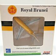 500 Inflight Royal Brunei Airlines Diecast 1500 Plane Witty Wings 1985 Colors